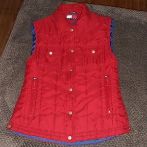 TOMMY HILFIGER Padded Winter Vest! Size Medium!